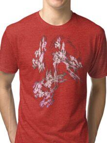 Flowering Pink Plum Tri-blend T-Shirt