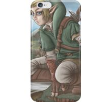 LINK has a nice view! iPhone Case/Skin
