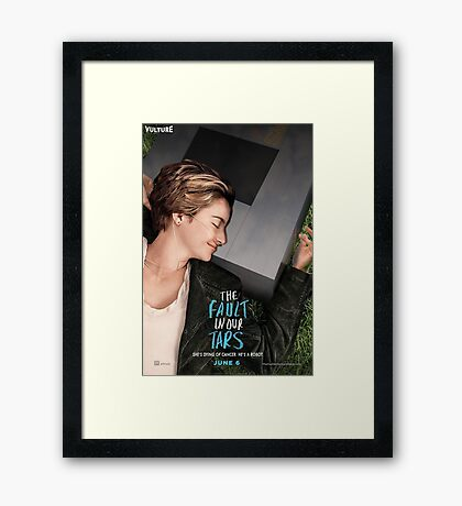 The Fault in our Tars Framed Print
