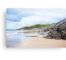 ballybunion beach beside the links Canvas Print