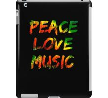Peace Love Music iPad Case/Skin