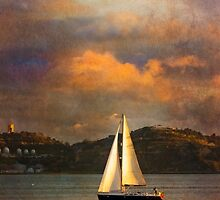 Rembrandt sailing in Lisbon:) Happy Easter dear friends:) by terezadelpilar~ art & architecture