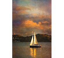 Rembrandt sailing in Lisbon:) Happy Easter dear friends:) Photographic Print
