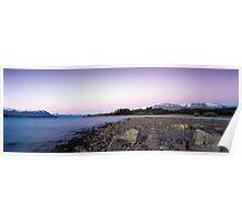 Lake Tekapo Sunset Poster