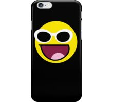 Awesome Grunge style Face  iPhone Case/Skin
