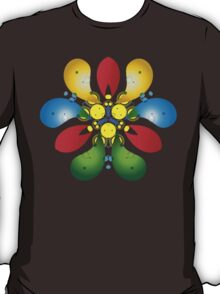 Colored Petals T-Shirt