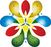 Colored Petals by BorisBurakov