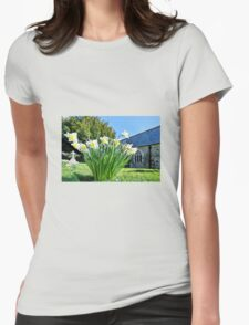 Daffodils At St Feock Church - Cornwall T-Shirt