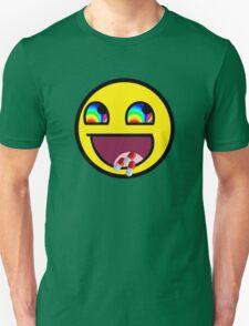 Awesome MEME Face flip drugs T-Shirt
