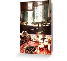 Calcutta Chow Greeting Card