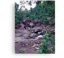 The Boulders - Innisfail, Far North Queensland Canvas Print