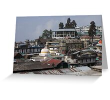 Darjeeling, India Greeting Card