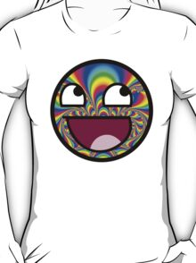 Awesome face - Trippy T-Shirt
