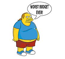 Worst Budget Ever! Photographic Print