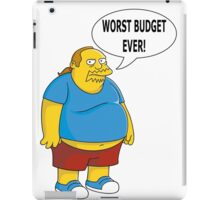 Worst Budget Ever! iPad Case/Skin