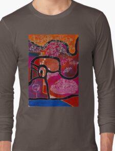 Elephant Maps or Google Maps Long Sleeve T-Shirt