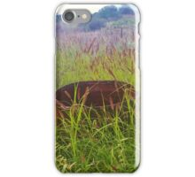 Drum in the Grass iPhone Case/Skin