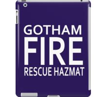 Gotham Fire, Rescue & Hazmat iPad Case/Skin