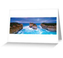 Island Arch Greeting Card