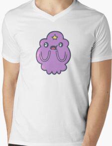 Lumpy space princess - amazed Mens V-Neck T-Shirt