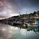 NEWLYN HARBOUR DAWN by outwest photography.co.uk