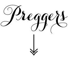 PREGGERS WITH ARROW by tculture