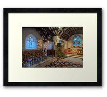 Church at Twilight Framed Print