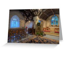 Church at Twilight Greeting Card