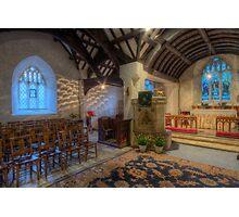 Church at Twilight Photographic Print