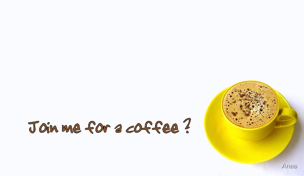 Coffee Invitation by Anaa