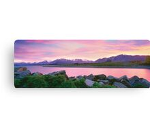 Sunrise Lake Tekapo Canvas Print