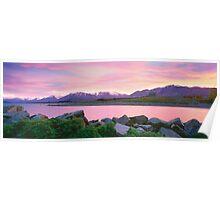 Sunrise Lake Tekapo Poster