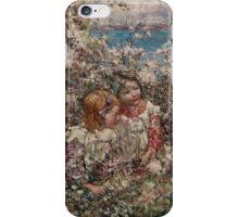 EDWARD ATKINSON HORNEL (1864-1933) Springtime 1930, Scotland iPhone Case/Skin