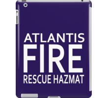 Atlantis Fire, Rescue & Hazmat iPad Case/Skin