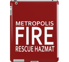Metropolis Fire, Rescue & Hazmat iPad Case/Skin