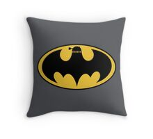 BAT-DALEK Throw Pillow
