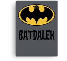 BAT-DALEK Canvas Print