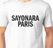 SAYONARA PARIS Unisex T-Shirt
