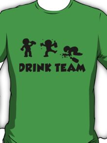 alcool funny cartoon bachelor party drink team  T-Shirt