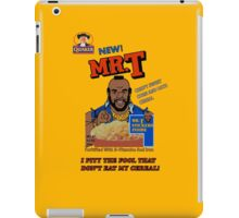 Mr. T Cereal  iPad Case/Skin