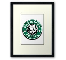 Darbucks Coffee Framed Print