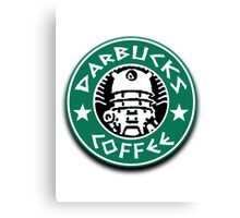 Darbucks Coffee Canvas Print