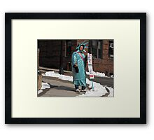 Liberty+Taxes=Oxymoron:  I Got My Masters Degree For This? Framed Print