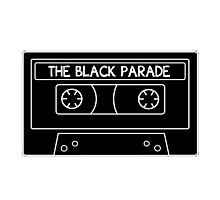 The Black Parade cassette tape Photographic Print
