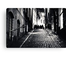 They Walk With Us #2 Canvas Print