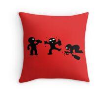 alcool funny cartoon bachelor party Throw Pillow