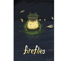 Fireflies Photographic Print
