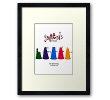 The Way We Roll Framed Print