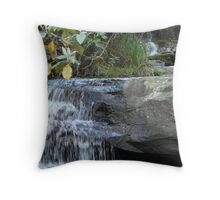 Masons falls-kinglake-victoria Throw Pillow