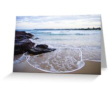Waterscapes: Barrack Point Headlands Greeting Card